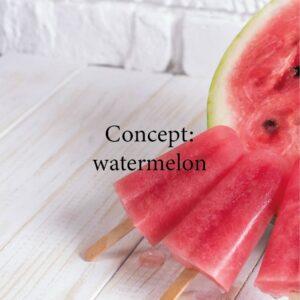 watermelon cosmewax wax strips